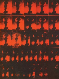 Andy Warhol Atomic Bomb Image