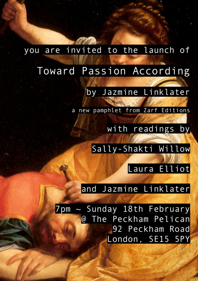 Toward Passion According launch